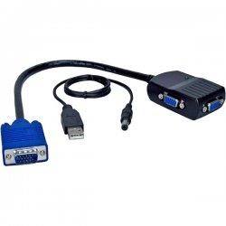 QVS - MSV12M - QVS Mini Video Distribution Amplifier - 1 x HD-15 VGA, 2 x HD-15 VGA - 2048 x 1536 @ 60Hz - QXGA