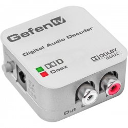 Gefen - GTV-DD-2-AA - Coaxial/optical Digital Audio Converter - White