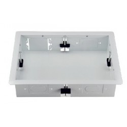 Intuitive Designs - IWB-1-SW - Inwall Component Enclosure (Large) (Solid Rear Panel) (White)