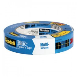 3M - 03681 / 2090-24A - 3M 03681 2090 Tape ScotchBlue Painter's .94x60yd 24mmx54.8m 36 Per Case