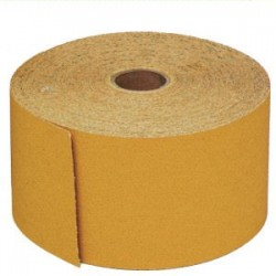 3M - 02590 - 3M 02590 Stikit Gold Sheet Roll, 02590, 2 3/4 in x 45 yd, P400A, 10 per case