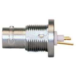 L-Com Global Connectivity - 10-06570 - Twinax Connector TRB 3-lug Bulkhead Jack Solderpot Non-Isolated Rear-mount