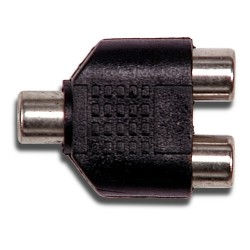L-Com Global Connectivity - 10-21905 - Rca F/f/f Adapter