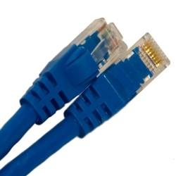 L-Com Global Connectivity - 26-251-84 - Cat5E 350Mhz Ethernet Patch Cord Blue 7 Ft.