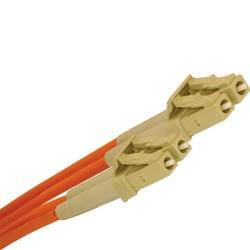 L-Com Global Connectivity - 27-255-005 - LC/LC SM Duplex Fiber Jumper 5 Meter
