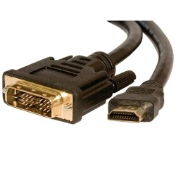 L-Com Global Connectivity - 32-231-1M - Dvi To Hdmi Adapter Cable 1 Meter