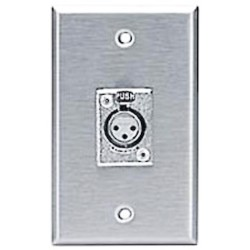 L-Com Global Connectivity - 60-03030 - XLR Jack (D3F) Stainless