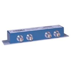 L-Com Global Connectivity - 90-50224 - 4-Stub Compact Dual Term 1553 Bus Coupler