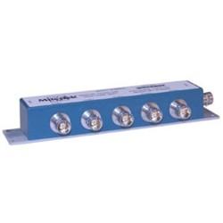 L-Com Global Connectivity - 90-52215 - 5-Stub Term 1553 Bus Coupler 1.4:1 Bus Jack Right