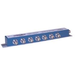 L-Com Global Connectivity - 90-52217 - 7-Stub Term 1553 Bus Coupler 1.4:1 Bus Jack Right