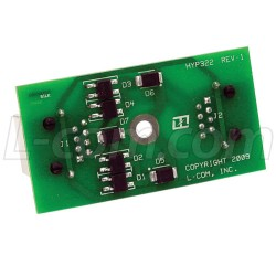 L-Com Global Connectivity - ALPR-HYP322 - Replacement Circuit Board for CMSP-CAT5-4, RSMP-CAT5S-4 and PoE Enclosures