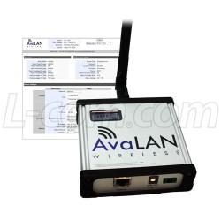 AvaLAN Wireless - AW900F-PAIR - 900 MHz Industrial Wireless Ethernet Radio Bridge Pair