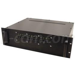 L-Com Global Connectivity - BT-CAT5-NB12 - 12-Port Rack Mount DC Injector for NB141207-4H0 Series Enclosures