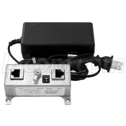 L-Com Global Connectivity - BT-CAT5-P1R4848 - BT-CAT5-P1R Midspan/Injector Kit with 48VDC @ 48W Power Supply