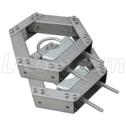 L-Com Global Connectivity - HGX-PMT26 - Antenna Array Pole Mount Kit for 120 Degree Sectorial Antennas