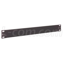 L-Com Global Connectivity - PR175BLK - 1.75 Panel, Blank Steel