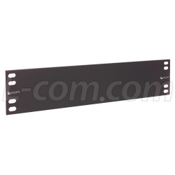 L-Com Global Connectivity - PR35BLK - 3.50 Panel, Blank Steel