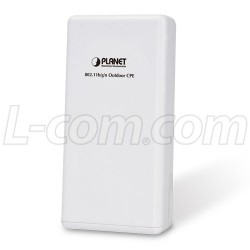 PLANET Technology - WNAP-6335 - 2.4GHz 300Mbps 802.11n Outdoor Wireless CPE w/2 RP-SMA Connectors