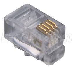 Stewart Connector - 940-SP-3044 - Stewart Modular Plug, Handset (4x4), Pkg/100