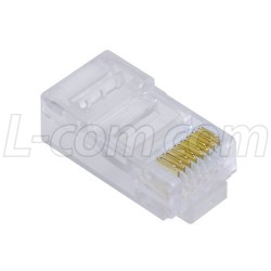 Stewart Connector - 943-SP-370808M2-A285 - Modular Plug, RJ45(8x8) Category 5/5E, Pkg/50