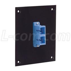 L-Com Global Connectivity - USP1FOPT-DSCB - Universal Sub-Panel, 1 Duplex SC Coupler