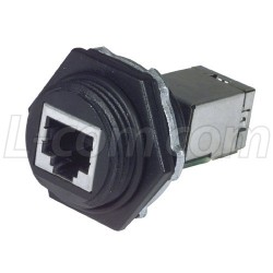Molex - 1300550001 / ENSP1F5 - IP67 Industrial Category 5E Shielded Feed-Thru Coupler