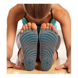 Gaiam - 05-59203 - Gaiam - Restore Toeless Grippy Socks-Medium