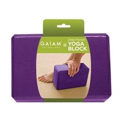 Gaiam - 05-59269 - Gaiam - Restore Yoga Block-Deep Purple