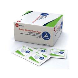 Dynarex - 1113-BX - Alcohol Prep Pads, Sterile-200/Box