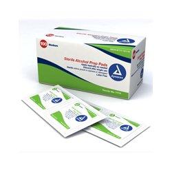 Dynarex - 1114-CS - Alcohol Prep Pads, Sterile-2000/Case