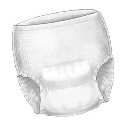 Covidien - 1205 - (Kendall) Surecare Protctive Underwear-Med-72/Case