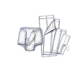 Covidien - 1528 - (Kendall) Surecare Undergarment-60/Case