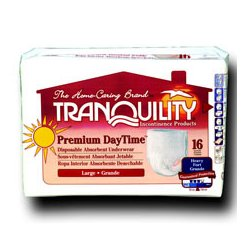 PBE (Principle Business Enterprises) - 2108 - Tranquility XXL-Plus Premium Daytime Underwear 48/Case