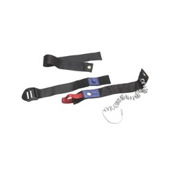 Drive Medical - ASB-2109V - Adjustable Corded Alarm Seat Belt with Kwik Release Fastener, Pack of 5 - (Black)