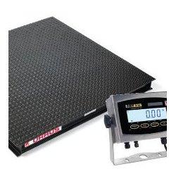 Ohaus - VX32XW5000X - Ohaus VX32XW5000X Washdown Floor Scale, 5000lb, 5 x 5' Platform; 115V