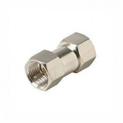 Steren Electronics - 200-100 - Steren F Type Male Coupler - 1 x F Connector Male - 1 x F Connector Male