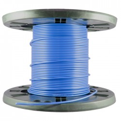 Holland Electronics - 1855940-BL - 1000ft Spool Mini RG59/U Coax - Blue
