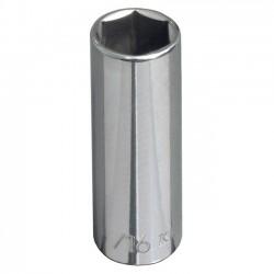 Klein Tools - 65711 - Klein Tools Individual Socket, 3/8in Drive, Deep 6-Point, 7/16in