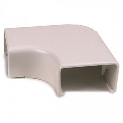 Hellermann Tyton - TSR1FW251 - HellermannTyton 3/4 Elbow Cover 1 Bend Radius - Bag of 10 - Office White