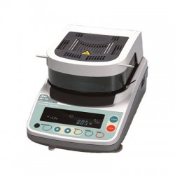AND Weighing - MX-50 - Moisture Analyzer Mx50 51 G 0.002 G Halogen +/- 0.01 Percent Aandd 50-200 Degrees C 110 Volt, Ea