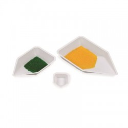 Heathrow Scientific - HS120227-CS - Heathrow Scientific Polystyrene Pour-Boat Weighing Dishes