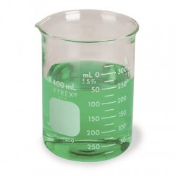 Corning - 1000-4l-packof1 - Beaker Pyrex Low Form 4000 Ml Dbl Scl (pack Of 1)