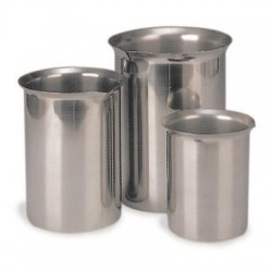 Other - 125B-EA - Stainless Steel Beakers