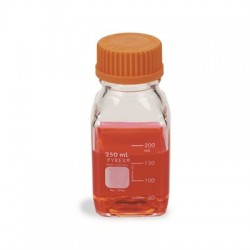 Corning - 1396-250 - BOTTLE MEDIA SQ 250ML CS10 (Case of 10)