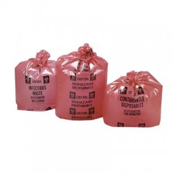 Other - EF28251B - Red Biohazardous Waste Disposal Bags Large Capacity
