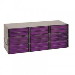 Heathrow Scientific - HS28623 - Heathrow Scientific 3 x 3 Upright Freezer Rack for Large Storage Boxes