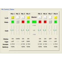 Revolabs - 10-HDCTRLPNL-GOLD - HD Gold Control Panel (Windows-based software)
