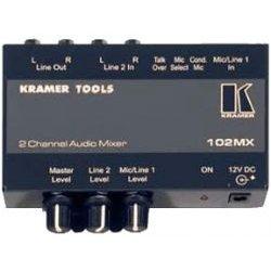 Kramer Electronics - 102MX - Kramer 102MX 2-Channel Stereo Audio Mixer