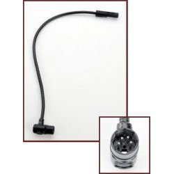 Littlite - 12XR-4-LED - LED 12 Gooseneck Lamp w/ 4-Pin Right Angle XLR Connector