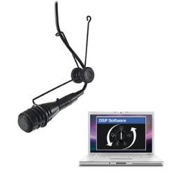 CAD Audio - 2600VP - DSP - CAD Variable Polar Pattern Hanging Microphone DSP Compatible - Black